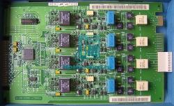 Аналоговый модуль (плата) TLA4R СЛ линий для OpenScape Business X3W/X5W L30251-U600-A594